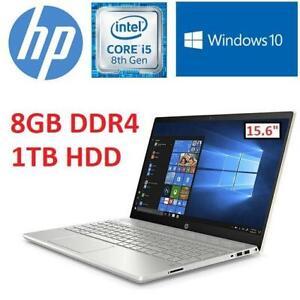 NEW HP PAVILION LAPTOP PC 15.6 15-CS0020CA 243099364 INTEL CORE i5-8250U 8GB DDR4 1TB HD WINDOWS 10 MINERAL SILVER F...