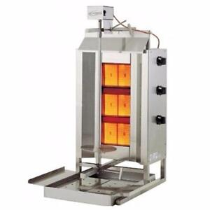 FREE SHIPPING on the Axis VB-3 Vertical Broiler - Shawarma, Gyro, or Donair Meat Cooker