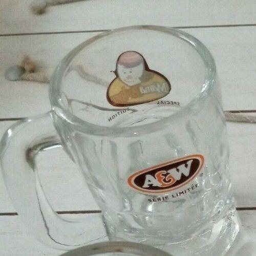 1 A&W Root Beer Mama Burger Mini Mug Shot Glass Special Edition 4oz