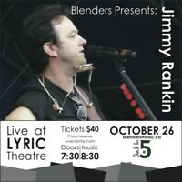 Blenders Presents Jimmy Rankin