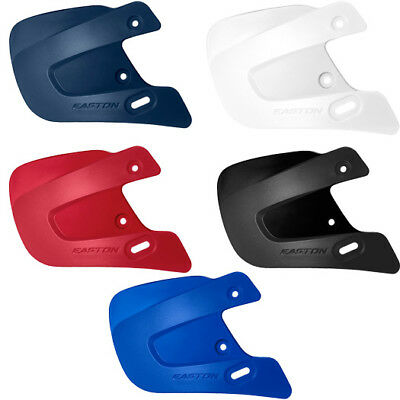 Easton Extended Jaw Guard C Flap - Easton Z5 Baseball Batting Helmet Extension