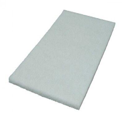 White Floor Pads - Clarke Alto Obs18 - Obs-18dc Orbital Sander Pads - 5 Pack