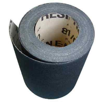 Floor Drum Sanding Sandpaper Roll - 8 X 50 Yards - 80 Grit - Bulk - Alum Oxide