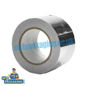 1-Big-Roll-48mm-x-10m-Aluminium-Foil-Self-Adhesive-Heat-Insulation-Tape-duct