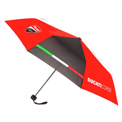 2019 Ducati Corse Racing MotoGP Compact Small Umbrella Official Team Merchandise