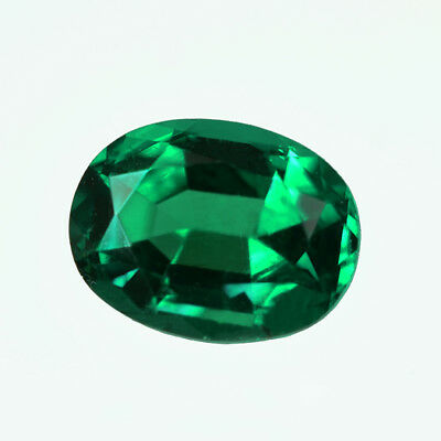Certified 0.73ct Zambia Natural Emerald Oval ~ 6.5 x 5 Loose Gemstone 246_VIDEO