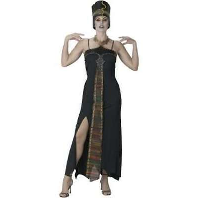 NWT EGYPTIAN DARK QUEEN COSTUME MED 10-12 - Halloween Costumes Express