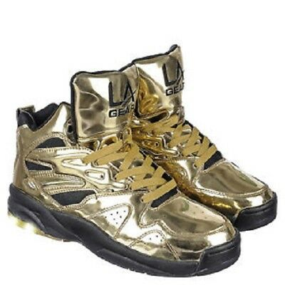 Used, LA Gear Ladies LA Lights Gold Black size 13 for sale  Los Angeles