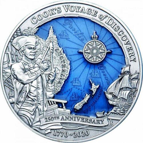 2020 Solomon Islands $10 3 oz Silver Cook