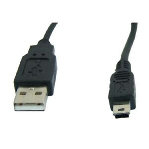 15 ft. TechCraft USB 2.0 A to Mini USB - 5 Pin Connector Cable -