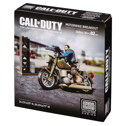 Mega Bloks Call of Duty Motorbike Breakout Collector Construction Set (DCL03)