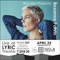 Blenders Presents Roxanne Potvin