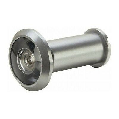 180 Degree Peephole Door Viewer Security Peep Hole Hardware, Satin Nickel Building & Hardware