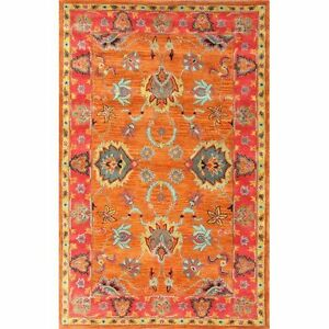 "New Hand made 100% Whool Elegance Area Rug  8'6""x11'6"""