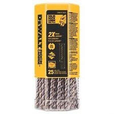 Dewalt 38 In. X 6-12 In. Solid Rock Carbide Sds Plus Bit Qty-25 C-4