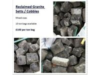 Reclaimed Granite Setts / Cobbles