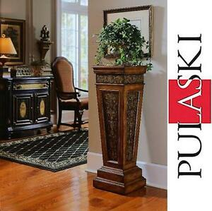 NEW* PULASKI PEDESTAL TABLE PEDESTAL TABLE 105502720