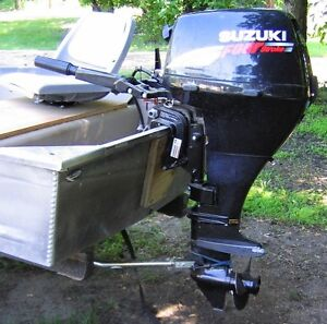 Fully equipped Fishing boat - motor- trailer - and accessories