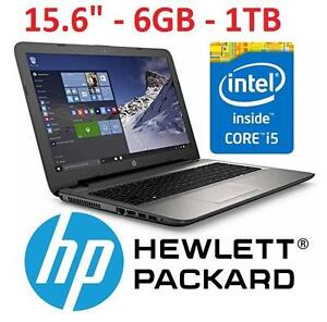 "REFURB HP 15.6 INTEL i5 LAPTOP PC COMPUTER NOTEBOOK PC - 15.6"" Intel Core i5-5200U Processor, 6GB Memory, 1TB Hard"