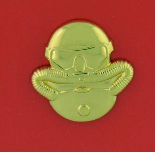Scuba Diver - regulation - gold mirror finish - USA Made - USCG Officer
