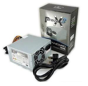450w Power Supply Unit Silent Quiet ATX PC Computer PSU 450 Watt