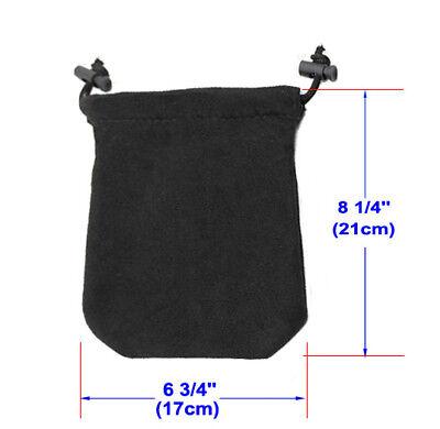 002c9dbb3872 A99 Golf Valuable Pouch Accessories Jewelry Bag New Black 2pcs