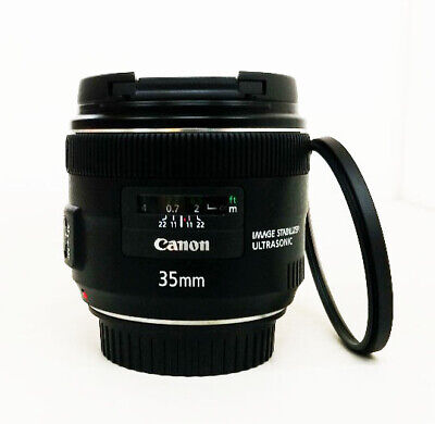 Canon EF 35mm f/2.0 IS USM Wide Angle Lens + Filter