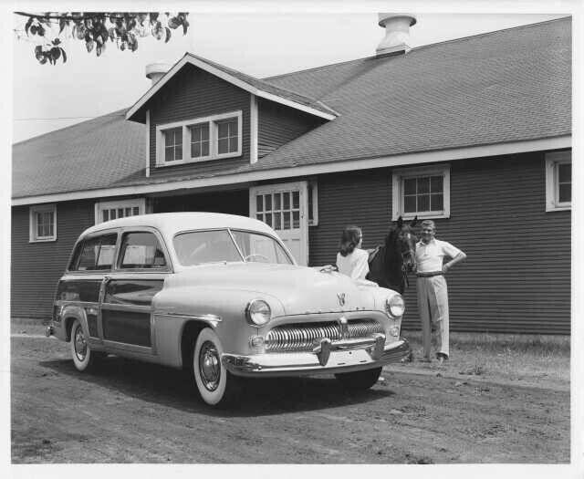 1949 Mercury Woody Station Wagon Press Photo 0087