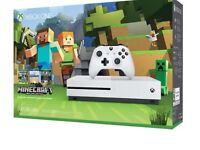 Brand new Xbox One S Minecraft edition(500GB)