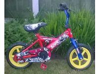 Sonic toddler bike