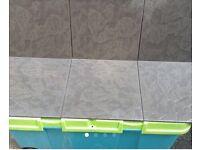 Slate lookalike floor tiles