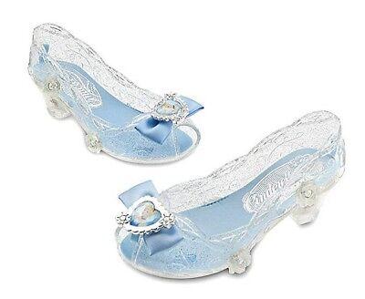 Disney Store Princess Cinderella Toddler Girls Light Up Costume Dress Up Shoes