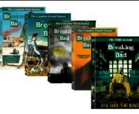 Breaking bad seasons 1-6 dvd boxsets