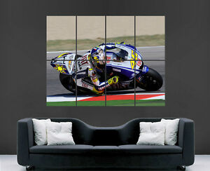 VALENTINO ROSSI SUPERBIKES WORLD CHAMPION  HUGE LARGE WALL ART POSTER PICTURE