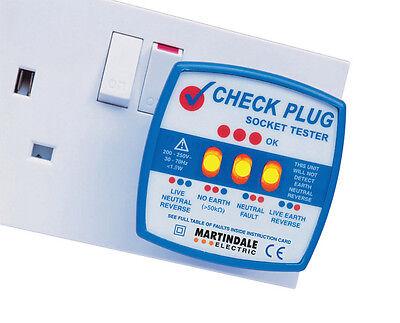Martindale CP501 Check Plug Socket Tester - Free P&P