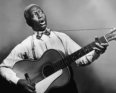 American Blues Singer Folk LEAD BELLY Glossy 8x10 Photo Print Leadbelly Poster