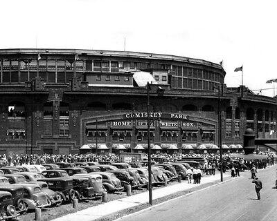 1930s Chicago White Sox COMISKEY PARK Glossy 8x10 Photo Print Stadium - Chicago White Sox Stadium