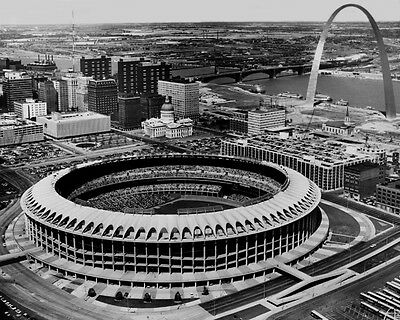 1967 St Louis Cardinals Busch Stadium Glossy 8X10 Photo Getway Arch Print Poster