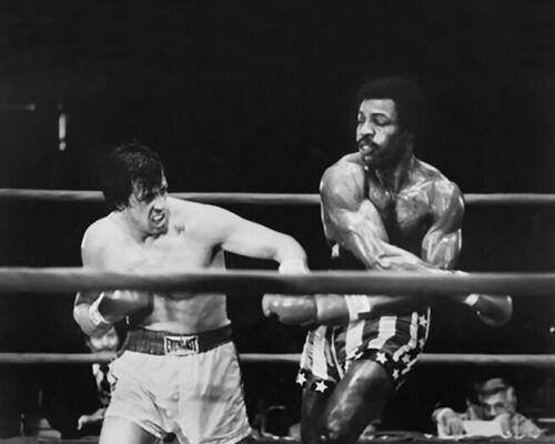 1976 Film ROCKY vs Creed Glossy 8x10 Photo Movie Print Slyvester Stallone Poster