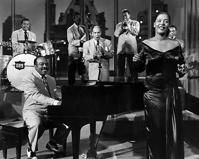 American Jazz Singer BILLIE HOLIDAY Glossy 8x10 Photo Print Songwriter Poster