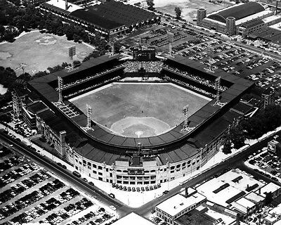 Chicago White Sox Comiskey Park - Chicago White Sox COMISKEY PARK Glossy 8x10 Photo Aerial Print Stadium Poster