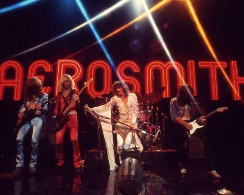 1974 Rock Band AEROSMITH Glossy 8x10 Photo Steven Tyler Print Music Poster