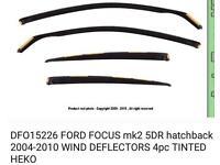 Ford Focus Rain & Wind Deflector
