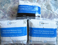 Mainstays Brand new Fitted Vinyl Mattress Cover at 40% 0ff