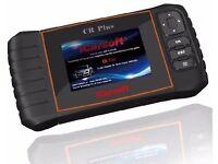 iCarsoft CR Plus Multi Vehicle Handheld Diagnositcs System SRS ABS Brake obd2