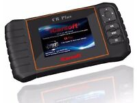 iCarsoft CR Plus Multi vehicle diagnostics covers ABS, SRS, Engine, Transmission, Service
