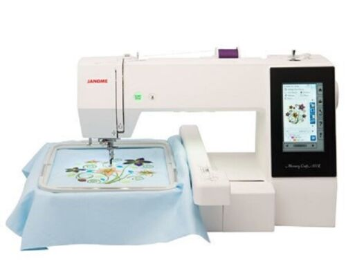 Janome Memory Craft 500E Embroidery Machine - Refurbished