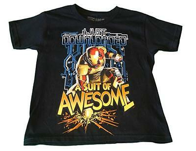 Youth Iron Man I Just Downloaded A Suit Of Awesome Shirt New Pick Size (Awesome Iron Man Suits)