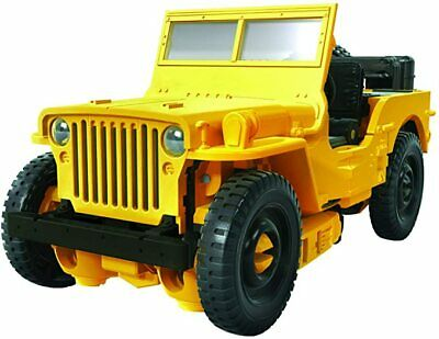 Transformers Toys Studio 57 Deluxe Class Bumblebee Movie Offroad Action Figure