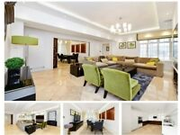 4 Bed - 1 Study/Guest Room 3 Bath - Portered luxurious Apartment NW1 -Baker Street